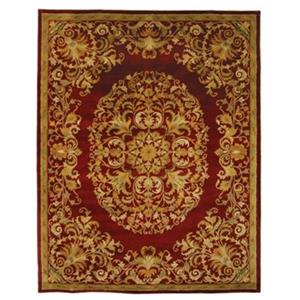Heritage Area Rug, Red