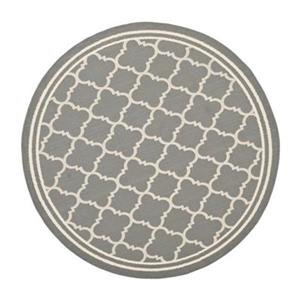 Safavieh Courtyard Gray Indoor Outdoor Area Rug
