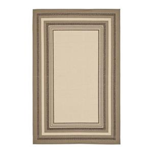 Courtyard Indoor/Outdoor Area Rug, Beige