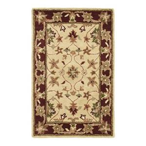 Heritage Area Rug, Ivory / Red