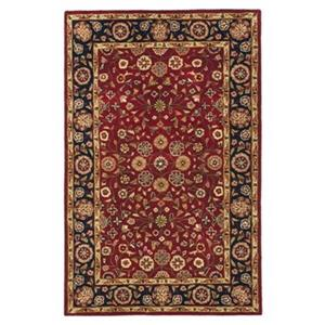 Heritage Area Rug, Red / Navy