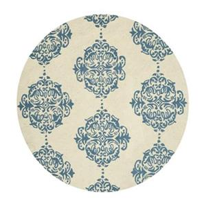 Chelsea Ivory and Blue Area Rug