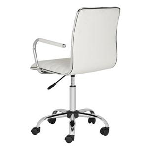 Safavieh 24-in White Jonika Desk Chair