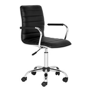 Safavieh 24-in Black Jonika Desk Chair