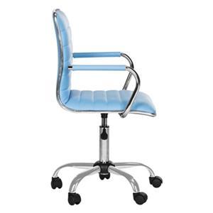 Safavieh 24-in Blue Jonika Desk Chair