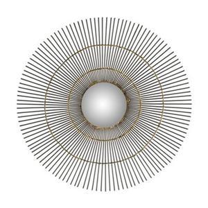 Safavieh 21-in x 21-in Natural Iron Orbit The Sun Mirror