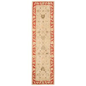 Anatolia Taupe and Red Area Rug