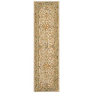 Anatolia Ivory and Brown Area Rug