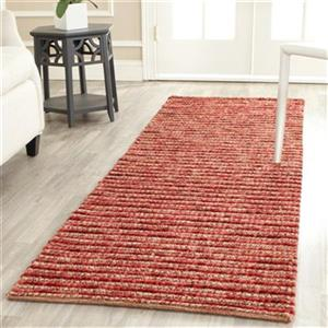 Bohemian Red and Multi-Colored Area Rug