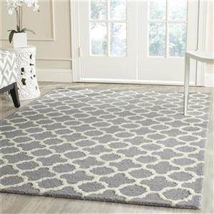 Cambridge Silver and Ivory Area Rug