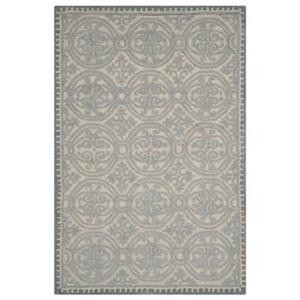 Cambridge Dusty Blue and Cement Area Rug