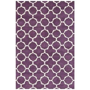 Chatham Purple and Ivory Area Rug