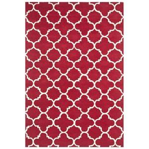 Chatham Area Rug, Red / Ivory