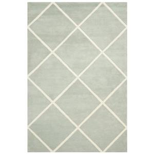 Chatham Grey and Ivory Area Rug
