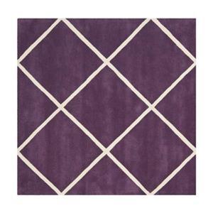 Chatham Area Rug, Purple / Ivory