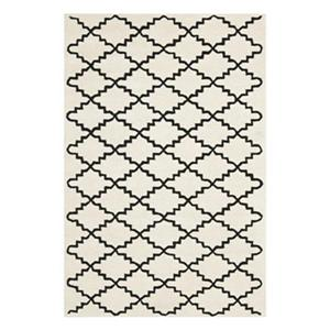 Chatham Ivory and Black Area Rug