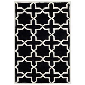 Chatham Black and Ivory Area Rug