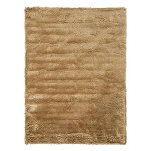 Faux Sheep Skin Camel Area Rug