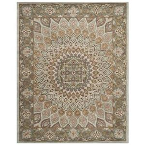 Heritage Blue and Grey Area Rug