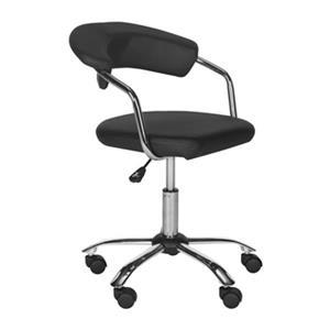 """Safavieh Foc 21.1"""" Black Pier Desk Chair"""
