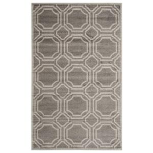 Amherst Grey and Light Grey Area Rug