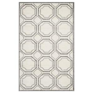 Amherst Ivory and Light Grey Area Rug