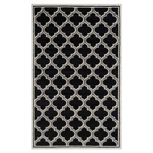 Safavieh Amherst Anthracite and Ivory Area Rug,AMT412G-5