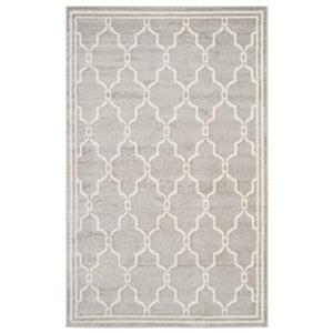 Safavieh Amherst 8-ft X 5-ft Light Grey and Ivory Area Rug