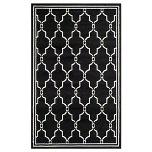 Safavieh Amherst 8-ft X 5-ft Anthracite and Ivory Area Rug