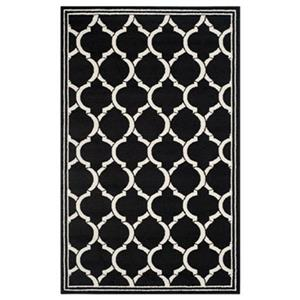 Amherst Anthracite and Ivory Area Rug