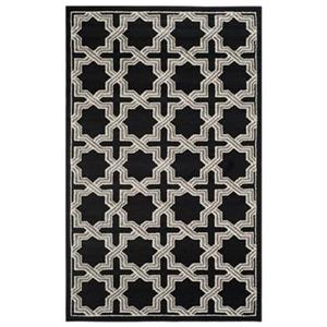 Amherst Anthracite and Grey Area Rug