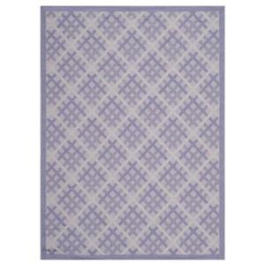Courtyard Lilac and Dark Lilac Area Rug