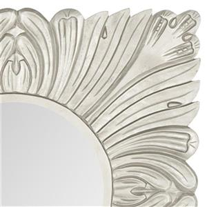 Safavieh 28-in x 28-in Pewter Acanthus Mirror