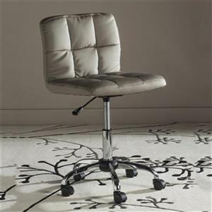 Safavieh Fox 23.8-in Grey Brunner Desk Chair