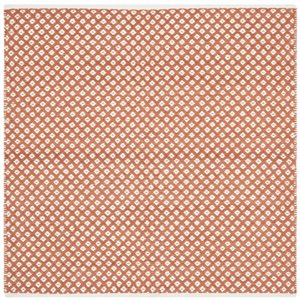 Boston Cotton Orange Area Rug
