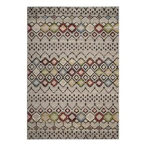 Amsterdam Light Grey and Multicolor Area Rug