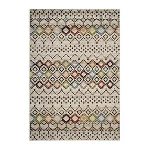 Amsterdam Ivory and Multicolor Area Rug