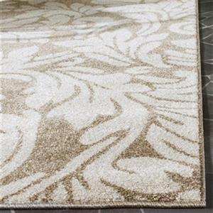 Safavieh Amherst 8-ft x 5-ft Wheat and Beige Indoor/Outdoor Rug