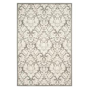 Dark Grey and Beige Amherst Indoor/Outdoor Rug