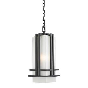 Z-Lite Abbey Outdoor Suspended Light - Black