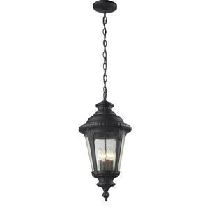Z-Lite Medow Outdoor Suspended Light - Black