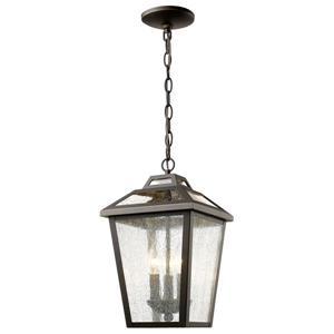 Z-Lite Bayland 3-Light Outdoor Suspended Light - Oil Rubbed Bronze