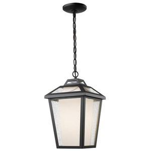 Z-Lite Memphis 1-Light Outdoor Suspended Light - Black