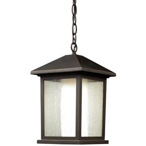 Z-Lite Mesa 1-Light Outdoor Suspended Light - Oil Rubbed Bronze