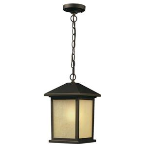 Z-Lite Holbrook Outdoor Suspended Light - Oil Rubbed Bronze