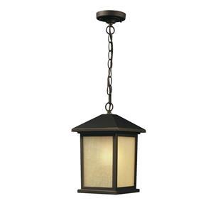 Z-Lite Holbrook Outdoor Suspended Light - Oil Rubbed Bronze