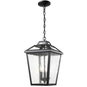 Z-Lite Bayland 3-Light Outdoor Suspended Light - Black