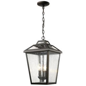 Z-Lite Bayland 3-Light Outdoor Suspended Light - Bronze