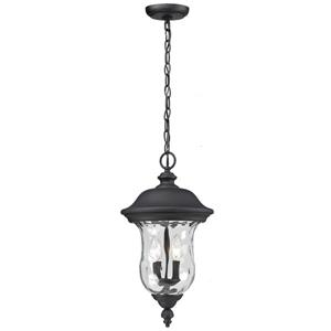 Z-Lite Armstrong Outdoor Suspended Light - Black