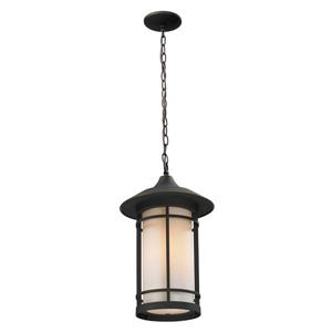 Z-Lite Woodland Outdoor Suspended Light - Oil Rubbed Bronze